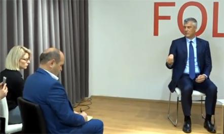Thaçi: S'ka viza pa demarkacionin me Malin e Zi
