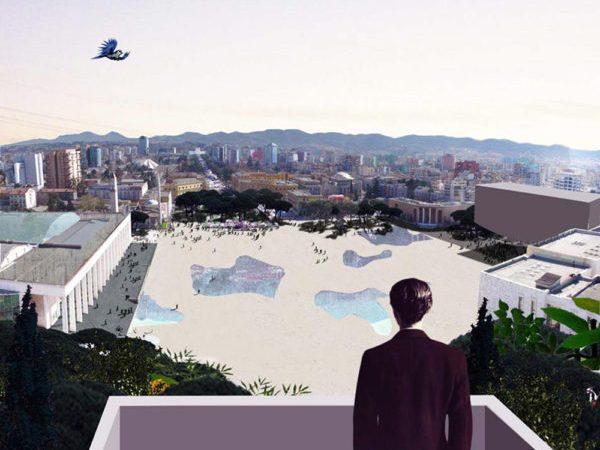 Tirana abstrakte e Erion Veliaj