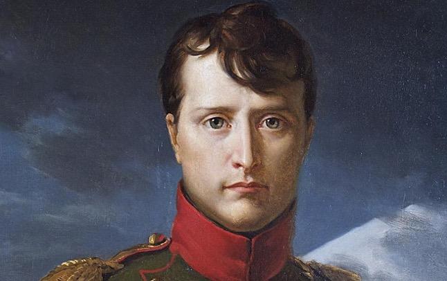 Në shkollë, Napoleon Bonapartin e vinin në lojë