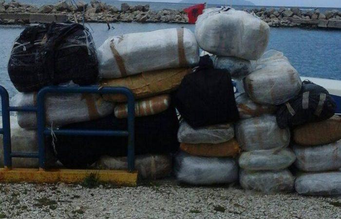Sërish drogë në Vlorë, kapet sasi e madhe kanabisi në Gjirin e Karaburunit
