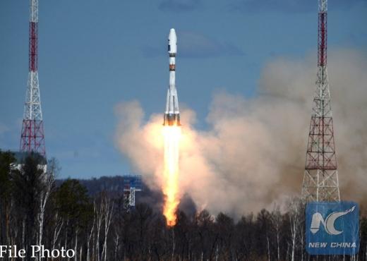 Rusia nis në hapësirë anijen kozmike me një rus dhe amerikan në bord