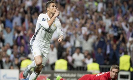 Real Madrid shpartallon Bayern Munich