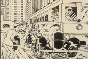 """Një ilustrim i rrallë i personazhit për fëmijë """"Tintin"""" shitet 753 mijë euro"""
