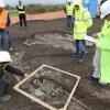 Zbulohen rrënojat e një vendbanim të hershëm në afërsi të Korçës