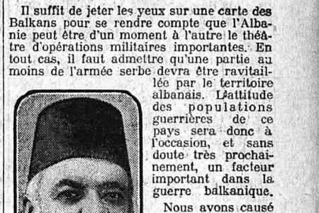 """Ekskluzive / Intervista e Ismail Qemalit në Paris për """"Le Matin"""", nëntor 1915 : """"Populli ynë është gjithmonë i gatshëm të luftojë dhe lufta është profesioni i tij i preferuar."""""""