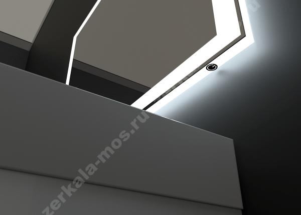 зеркало для ванной СИГМА-02