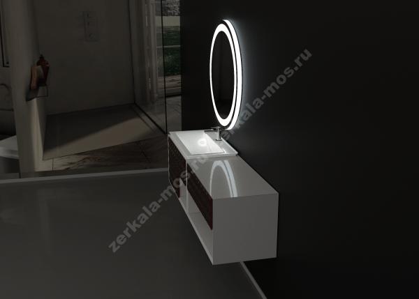 зеркало для ванной ЛУНА-03