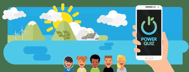 Projeto POWER QUIZ troca a eficiência energética por miúdos