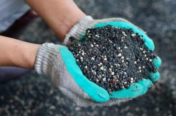 Poluição fertilizante mineral
