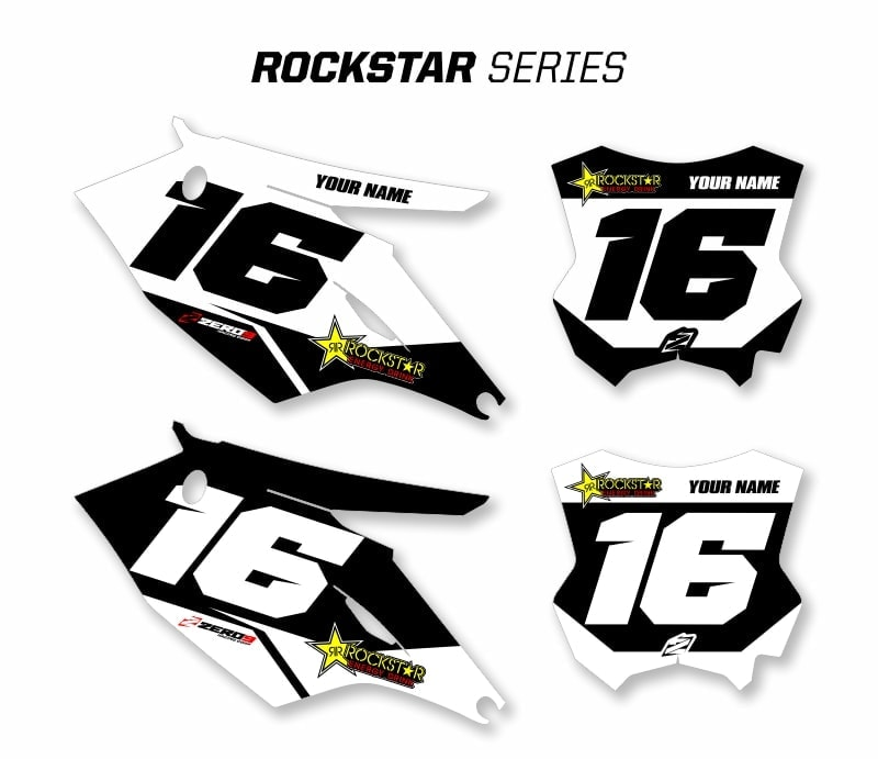 KAWASAKI CUSTOM MOTOCROSS BACKGROUNDS