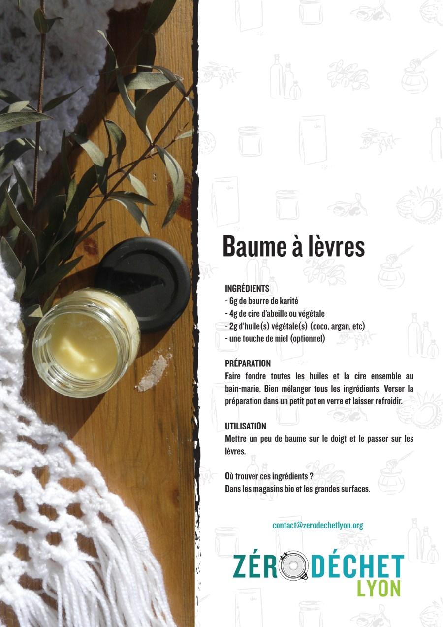 Zero dechets Lyon-Recettes DIY-Baume à lèvres-v5