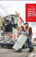 Couverture du Rapport annuel 2015 du Grand Lyon