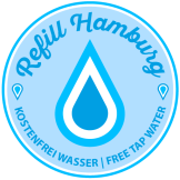 "Stickers ""Refill Hamburg"""