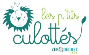Logo des P'tits cullotés : avec un petit lion couronné, bien fièrs de lui