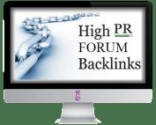 high pr backlinks, forum backlink