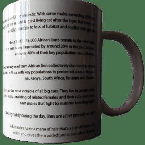 adopt a lion mug