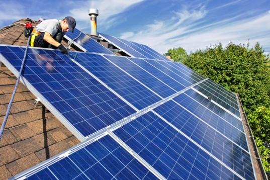 zero energy home solar panels