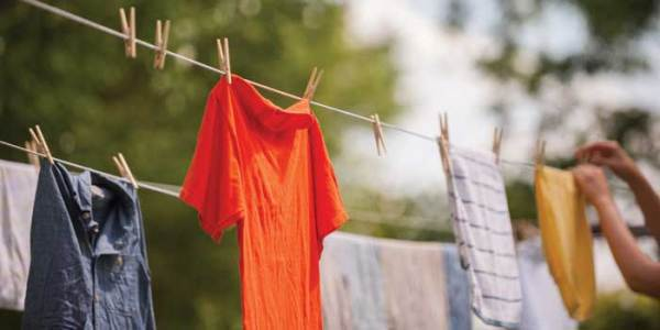clotheslines save energy