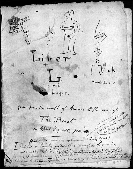 Image result for liber al vel legis