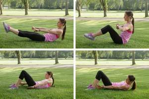 Ab Rows Exercise for Bigger Hips
