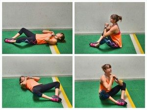 Butterfly Sit-up - How to Lose Body Fat:10 Ways to Reduce Fat Percentage