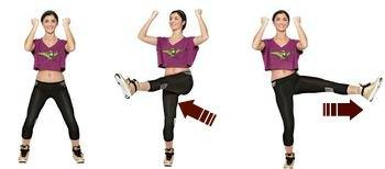 Crescent Kicks-7 Best Leg Exercises for Women at Home: Slim and Toned Legs