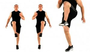 High Knees Exercise - How to Lose Body Fat:10 Ways to Reduce Fat Percentage