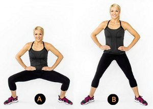 Side-To-Side Plies-7 Best Leg Exercises for Women at Home: Slim and Toned Legs