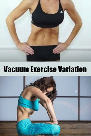 Vacuum Stomach Exercise - 10 Best Belly Fat Burning Exercises for Flat Stomach