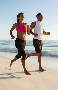 Walking, Jogging and Running