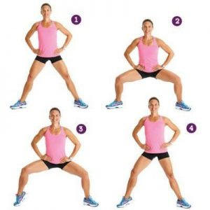 Plies Squat Exercise- 10 Best Exercises to Lose Thigh Fat Fast in a Week at Home
