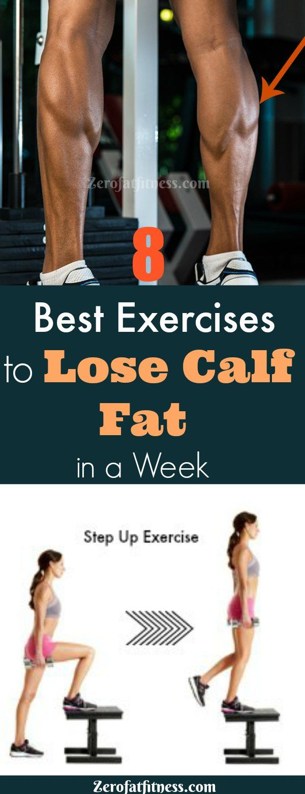 8 Best Exercises to Lose Calf Fat Fast in a Week