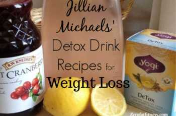 Jillian Michaels Detox Drink Recipes for Weight Loss