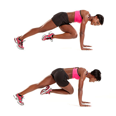 Mountain Climbers Workout - 9 Belly Fat Burning Exercises to Lose Stubborn Stomach Fat Fast
