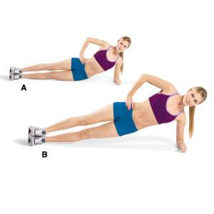 Side Plank-Up Exercise for Flat Stomach- 9 Belly Fat Burning Exercises to Lose Stubborn Stomach Fat Fast