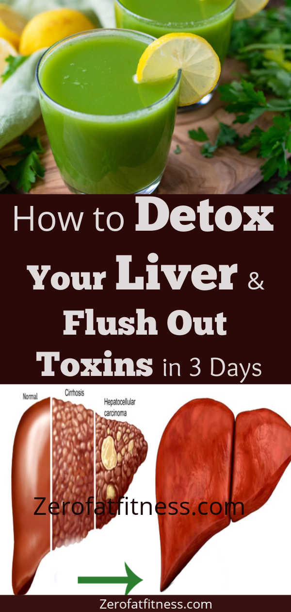 Liver Cleanse- How to Detox Your Liver and Flush Out Toxins in 3 Days