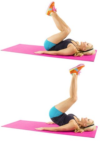 Reverse Crunches for Belly Fat