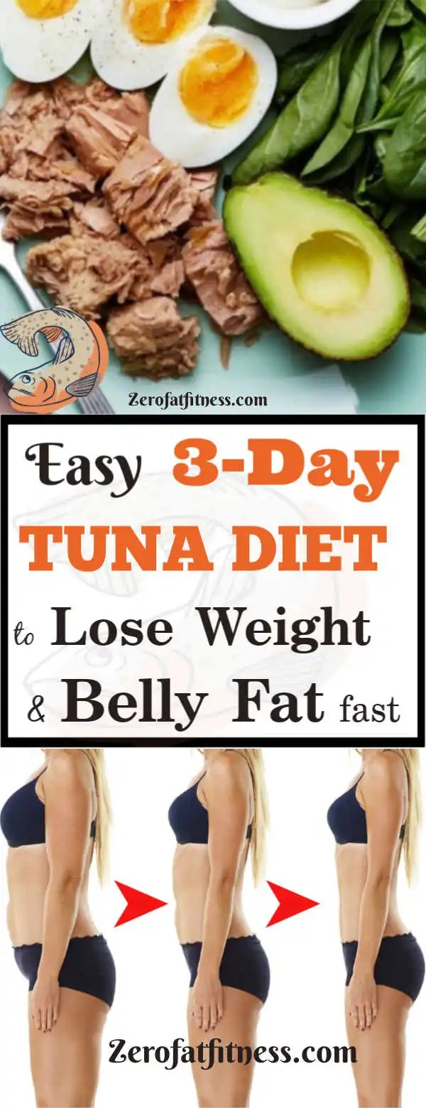 3-Day Tuna Diet for Weight Loss and Flat Belly: Lose 10 Pounds Fast