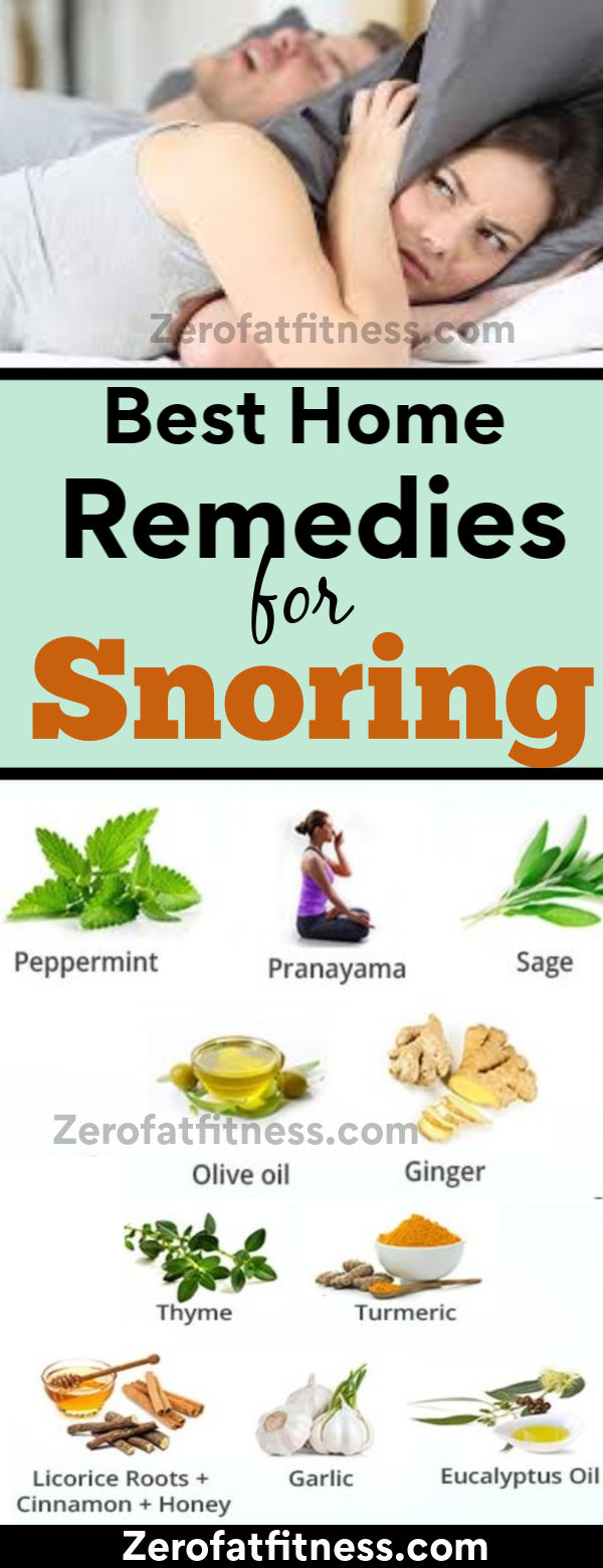 Snoring Remedies: How to Stop Snoring Immediately and Naturally