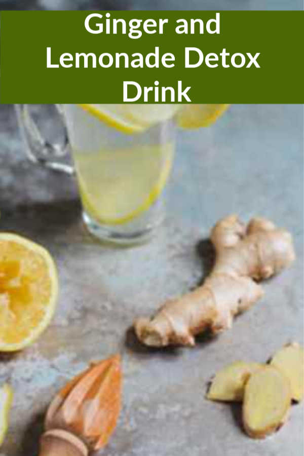 Ginger and Lemonade Detox Drink