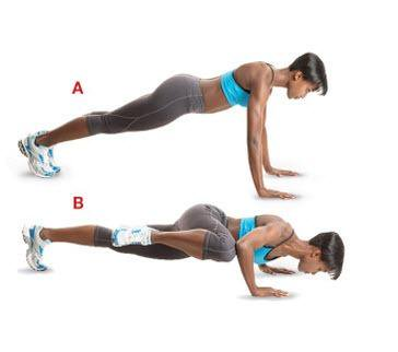 Plank Crunches - 11 Easy Ab Exercises to Tone Stomach in 2 Weeks at Home