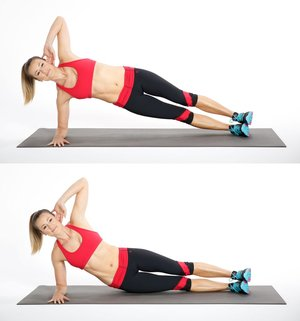 Side Plank -11 Easy Ab Exercises to Tone Stomach in 2 Weeks at Home