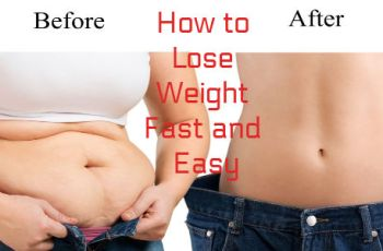 How to Lose Weight Fast and Easy-5 Ways to Burn Fat Naturally at Homes to Burn Fat Naturally at Home