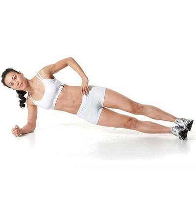 Side Plank Core Workouts Routine