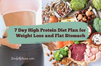 7 Day High-protein diets can help you lose weight, get flat belly ,gain muscle and improve your overall health. This article explains how and provides a high-protein diet plan