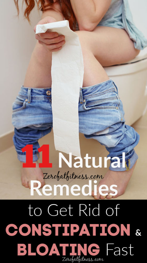 11 Natural Remedies to Get Rid of Constipation and Bloating Fast