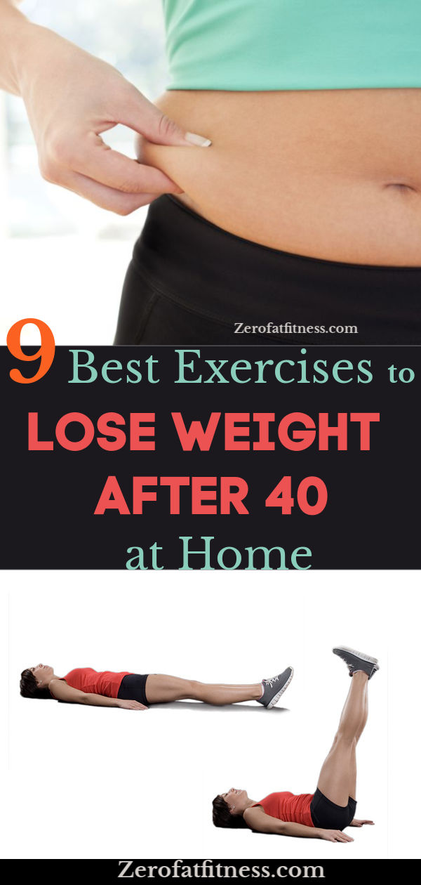 9 Best Exercises to Lose Weight After 40 at Home
