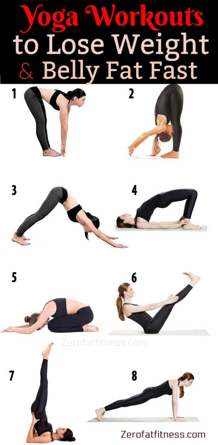 Yoga Workouts for Beginner to Lose Weight and Belly Fat Fast