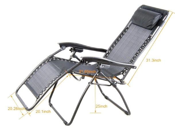 Outsunny zero gravity recliner review the no brainer chair - Costco zero gravity recliner ...