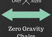 oversized zero gravtiy chairs